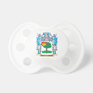 Escudo de armas de Mcenchroe - escudo de la Chupetes Para Bebes