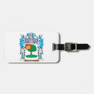 Escudo de armas de Mcenchroe - escudo de la Etiquetas Bolsa