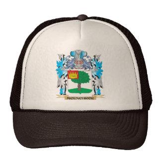 Escudo de armas de Mcenchroe - escudo de la Gorras De Camionero