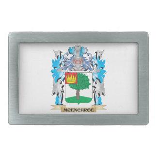 Escudo de armas de Mcenchroe - escudo de la Hebillas De Cinturon Rectangulares