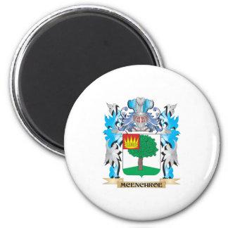 Escudo de armas de Mcenchroe - escudo de la Imanes De Nevera