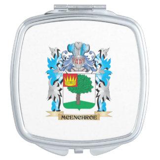 Escudo de armas de Mcenchroe - escudo de la Espejo De Maquillaje