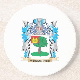 Escudo de armas de Mcenchroe - escudo de la Posavasos Manualidades