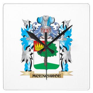Escudo de armas de Mcenchroe - escudo de la Relojes De Pared