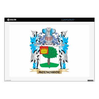 Escudo de armas de Mcenchroe - escudo de la Calcomanías Para 43,2cm Portátiles