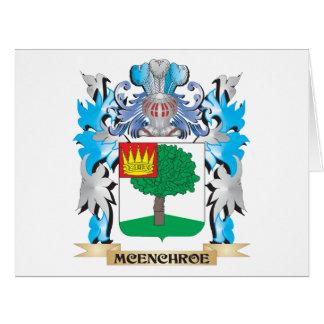 Escudo de armas de Mcenchroe - escudo de la Felicitacion