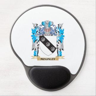 Escudo de armas de Mcginley - escudo de la familia Alfombrilla De Ratón Con Gel
