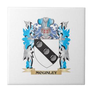 Escudo de armas de Mcginley - escudo de la familia Azulejos Cerámicos