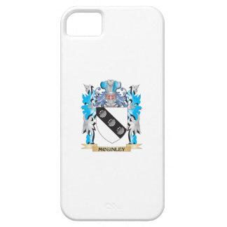 Escudo de armas de Mcginley - escudo de la familia iPhone 5 Cobertura
