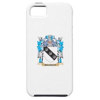 Escudo de armas de Mcginley - escudo de la familia iPhone 5 Case-Mate Carcasas