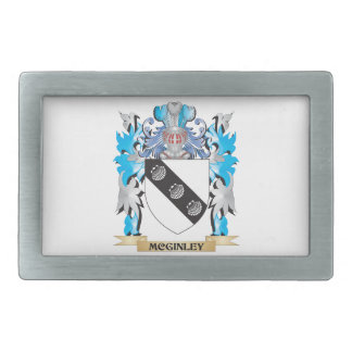 Escudo de armas de Mcginley - escudo de la familia Hebilla Cinturon Rectangular
