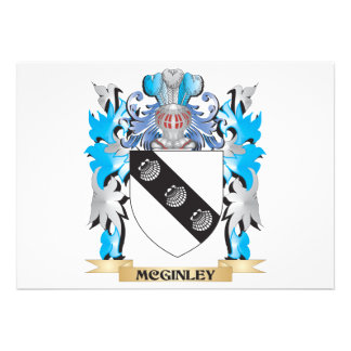 Escudo de armas de Mcginley - escudo de la familia Invitacion Personalizada