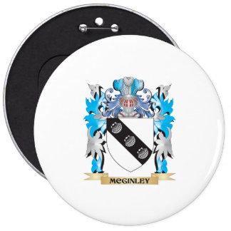 Escudo de armas de Mcginley - escudo de la familia Pins