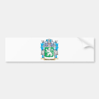 Escudo de armas de Mcglinchy - escudo de la Pegatina Para Coche