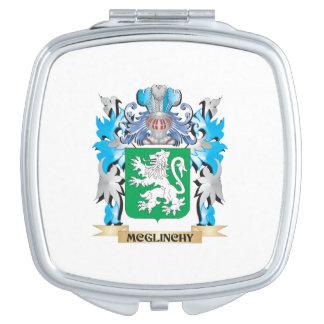 Escudo de armas de Mcglinchy - escudo de la Espejo De Maquillaje