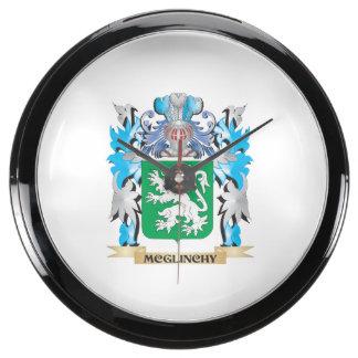 Escudo de armas de Mcglinchy - escudo de la Relojes Aquavista