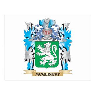 Escudo de armas de Mcglinchy - escudo de la Postal