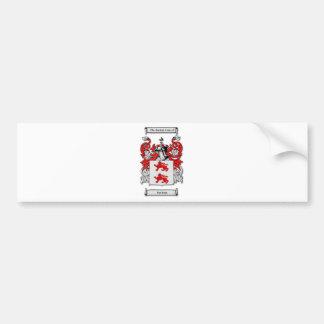 Escudo de armas de McGlynn Pegatina Para Auto