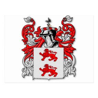 Escudo de armas de McGlynn Postales