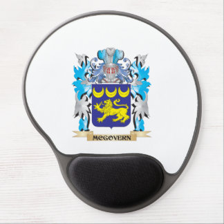 Escudo de armas de Mcgovern - escudo de la familia Alfombrillas De Ratón Con Gel
