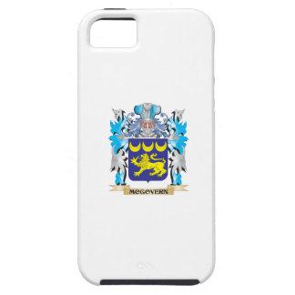 Escudo de armas de Mcgovern - escudo de la familia iPhone 5 Case-Mate Coberturas