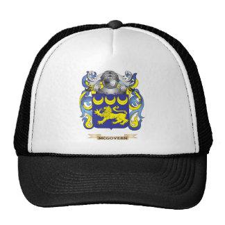 Escudo de armas de McGovern (escudo de la familia) Gorras De Camionero