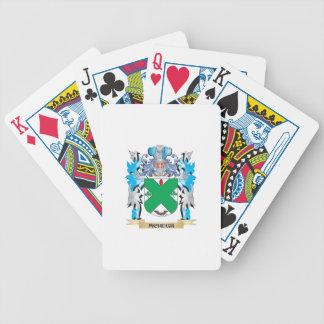 Escudo de armas de Mchugh - escudo de la familia Baraja Cartas De Poker