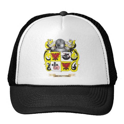 Escudo de armas de McIntyre (escudo de la familia) Gorros