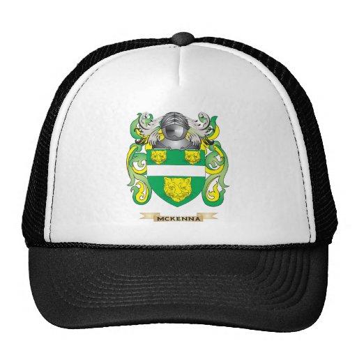 Escudo de armas de McKenna (escudo de la familia) Gorras