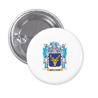 Escudo de armas de Mckenzie - escudo de la familia Pin Redondo 2,5 Cm