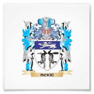 Escudo de armas de Mckie - escudo de la familia Fotografía
