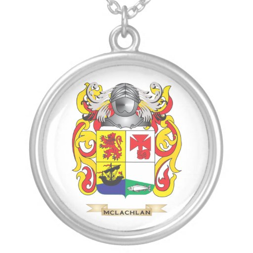 Escudo de armas de McLachlan (escudo de la familia Colgante