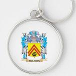 Escudo de armas de Mclaren - escudo de la familia Llaveros Personalizados