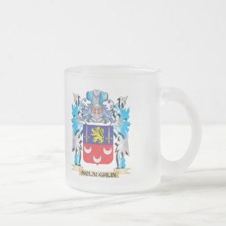 Escudo de armas de Mclaughlin - escudo de la Taza Cristal Mate
