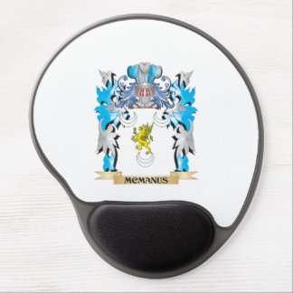 Escudo de armas de Mcmanus - escudo de la familia Alfombrilla Gel