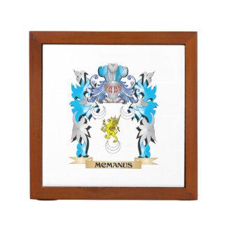 Escudo de armas de Mcmanus - escudo de la familia