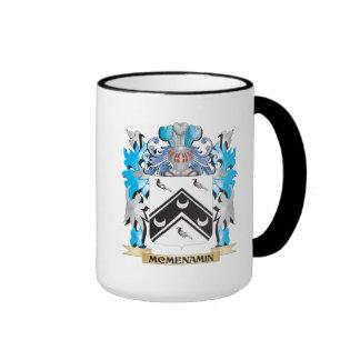 Escudo de armas de Mcmenamin - escudo de la Taza De Dos Colores