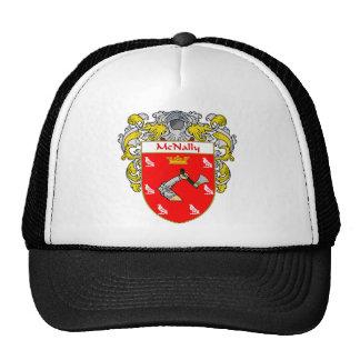 Escudo de armas de McNally (cubierto) Gorras