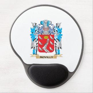 Escudo de armas de Mcnally - escudo de la familia Alfombrillas De Raton Con Gel