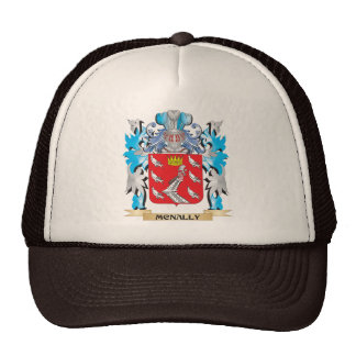 Escudo de armas de Mcnally - escudo de la familia Gorros