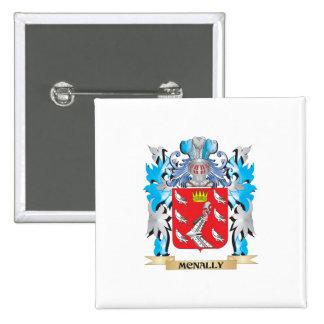 Escudo de armas de Mcnally - escudo de la familia Pin