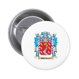 Escudo de armas de Mcnally - escudo de la familia