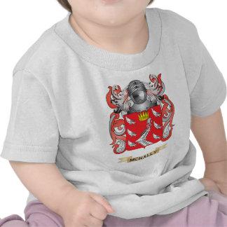 Escudo de armas de McNally (escudo de la familia) Camisetas