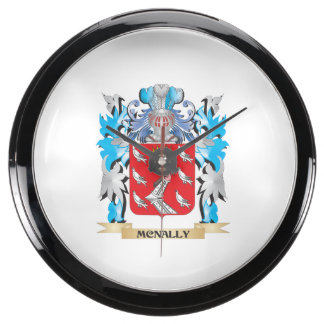Escudo de armas de Mcnally - escudo de la familia Relojes Pecera