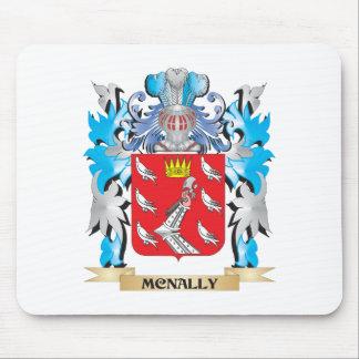 Escudo de armas de Mcnally - escudo de la familia Alfombrilla De Ratones