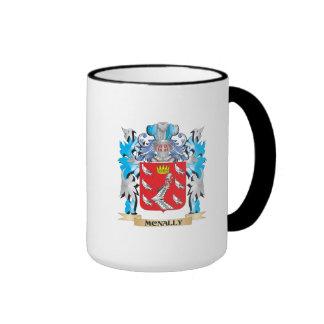 Escudo de armas de Mcnally - escudo de la familia Taza A Dos Colores