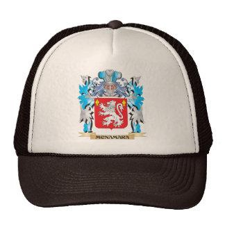 Escudo de armas de Mcnamara - escudo de la familia Gorros Bordados