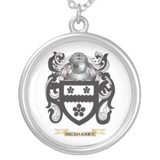 Escudo de armas de McSheehy (escudo de la familia) Colgante Redondo