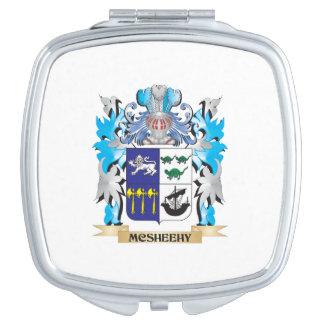 Escudo de armas de Mcsheehy - escudo de la familia Espejos De Maquillaje