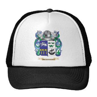 Escudo de armas de McSheehy (escudo de la familia) Gorras